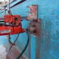 Detalle de Trabajo de Perfioración en Muro