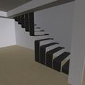 diseño de escalera metalica