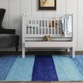 dormitorio- nfantil con-alfombra azul