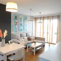 Sala remodelada low cost