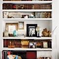 Estantería de obra con libros