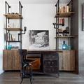 Oficina estilo industrial