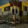 Estructura en fachada