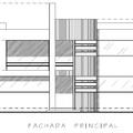 fachada de casa habitacion