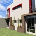 Fachada Posterior Casa-Habitación