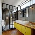 baño con nuevos materiales
