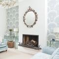 Paredes decoradas con papel tapiz