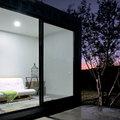 patio exterior de la casa contenedor