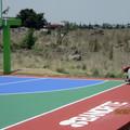 Pintura y protección de Cancha Deportiva