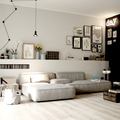 Sala remodelada con tablaroca
