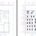 Planos con distribución de areas y adecuación de luminarias