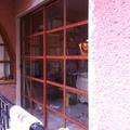 "Puerta corrediza de 2"" color madera"