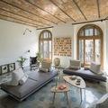 Sala con bóveda catalana