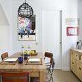 sala con muebles de madera