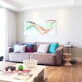 salón con piso vinilíco