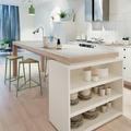 Isla de cocina con almacenaje