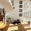 Piso de madera estilo clásico