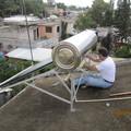 Suministro e instalación de calentador solar