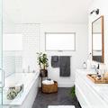 Baño con ventilación natural