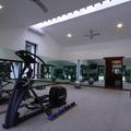 Vista del gimnasio hacia el Spa