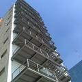 Vista panorámica de escaleras terminadas.