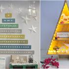 decoración navideña con palets
