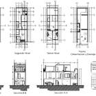 Planos arquitectónicos con tercer nivel
