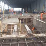Distribuidores Sherwin Wiliams - Construcción nave industrial línea 5 zacapu michoacan