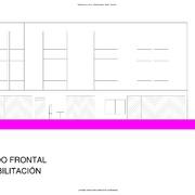 ALZADO FRONTAL PROPUESTA REHABILITACIÓN