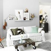 Sala con decoración moderna