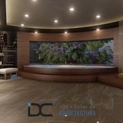 Diseño interior de un baño de lujo