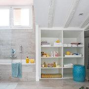 Baño, clóset y vestidor unidos