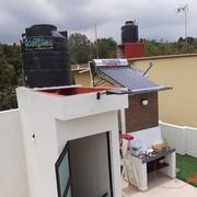 Instalación de calentador Solar con elevación de tinaco