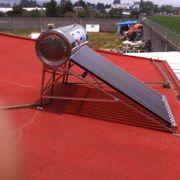 Instalación de Calentador Solar 15 tubos