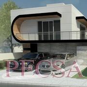 Casa estilo minimalista en Zibata