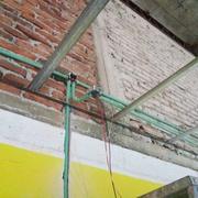 Colocación de nuevo plafón y traslado de nuevas instalaciones