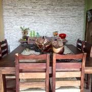 Comedor para 8 personas en madera de tepehuaje