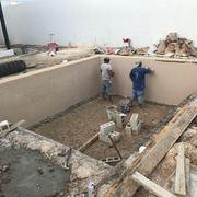 construcción de alberca