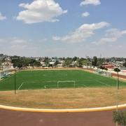 Construcción de cancha de futbol