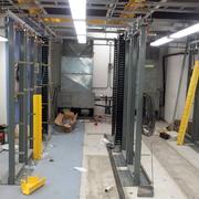 Construcción del switch de telecomunicaciones en el WTC Cd de México