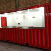 Acondicionamiento de contenedores para local comercial