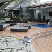 deck de Cumarú residencia Cuernavaca