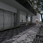 Diseño exteriores tienda de bicicletas