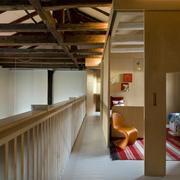 Recámaras construidas con madera contrachapada