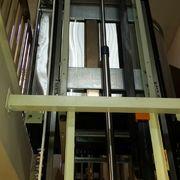 Elevador hidráulico de media cabina de fabricación nacional  para 2 niveles para personas con movilidad reducida