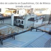 Distribuidores Interceramic - CAMBIO DE CUBIERTA EN CUAUHTEMOC, CD. DE MEXICO