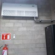 Evaporador Instalado en Cuarto de Control