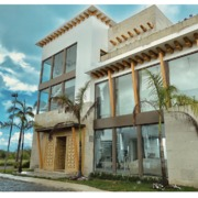 Fachada Laguna Puerto Cancun