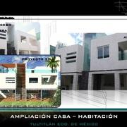 Proyecto Casa Residencial Tultitlán Edo. de México