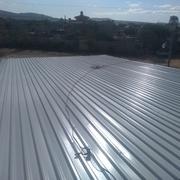 instalación de láminas galvanizadas